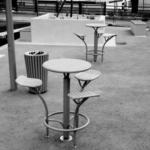 mobilier urbain de designer